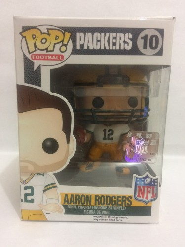 Funko Pop Aaron Rodgers - Vaulted-NFL-10
