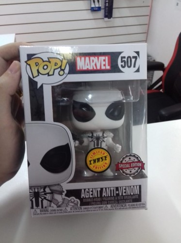 Funko Pop Agent Anti-venom-Marvel Comics-507