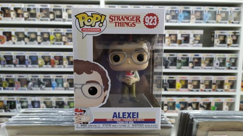 Funko Pop Alexei Stranger Things - Stranger Things - #923