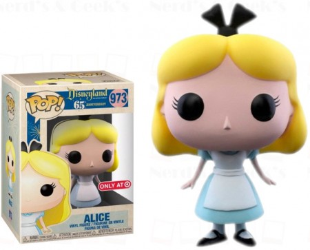Funko Pop Alice Exclusiva Target-Disney-973