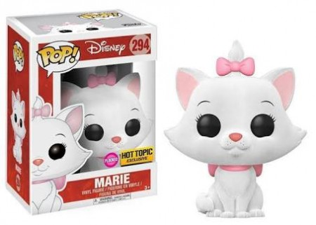 * Funko Pop Deesenho/animação  - Os Aritogatos - Marie Floked 294 ( Hot Topic)-The Aristcats-294