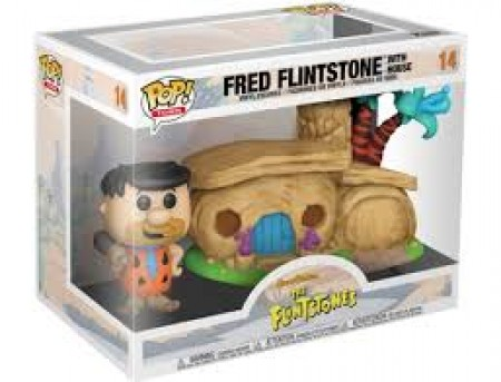 Funko Pop Animação  - Os Flintstone   - Fred Flintstone With House 14-The Flintstones-14