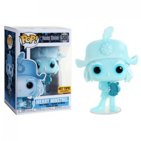 Funko Pop Animação - Haunted Mansion - Merry Minstrel  580 ( Hot Topic)-HAUNTED MANSION-580