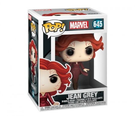 Funko Pop Animação - Marvel X-men 20th- Jean Grey  645-X-Men 20th Anniversary-645