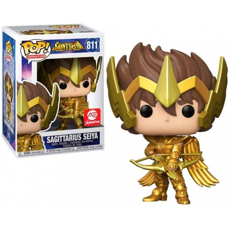 Funko Pop Animation -  Sagittarius Seiya - #811-CDZ - Cavaleiros Do Zodiaco-811