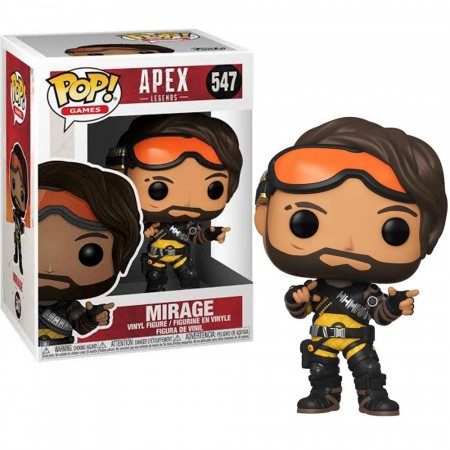 Funko Pop Apex Legends: Mirage-Apex Legends-547