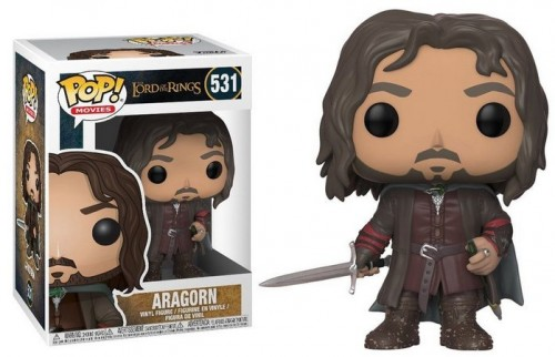 Funko Pop Aragorn Lord Of The Rings-Senhor Dos Anéis-531