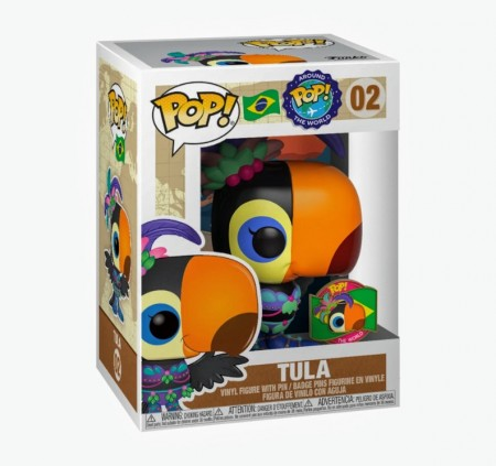 Funko Pop Around The World- Tula Brasil 02 (funko Shop)-Pop Around The World-2