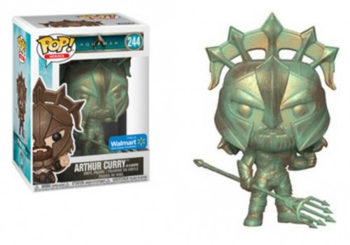Funko Pop Arthur Curry (walmart), Aquaman - 244-Aquaman-244