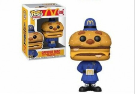 Funko Pop Artista - Mcdonald's - Oficial Mc 89-ID Icon-89