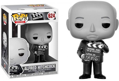 Funko Pop Artistas  - Ad Icons - Alfred Hitchcock 624-AD Icons-624