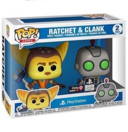 Funko Pop Games  - 2pack Ratchet & Clank-Games-2