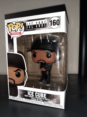 Funko Pop Artistas - Rock- Ice Cube 160 - POP Rocks - #160