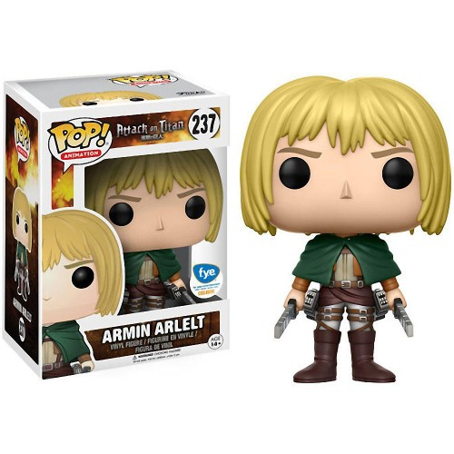 Funko Pop Attack On Titan Armin Arlet Exclusiva-Attack on Titan-237