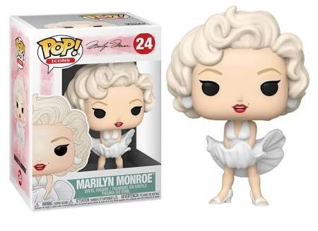 Funko Pop  Artistas - Id Icons- Marilyn Monroe 24-ID Icon-24