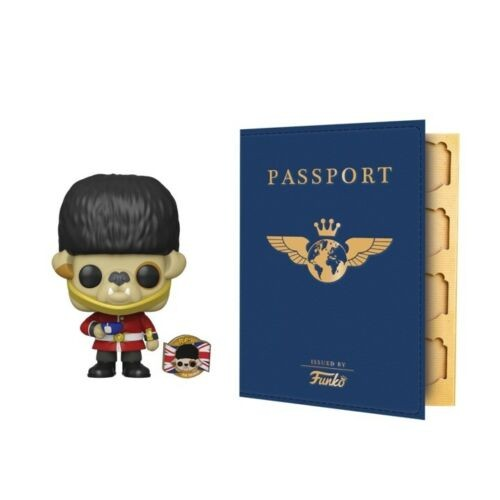 Funko Pop Barkingham Uk And Passport Book Bundle-Funko Around the World-1