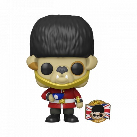 Funko Pop Barkingham Uk (sem Passaporte)-Pop Around The World-1