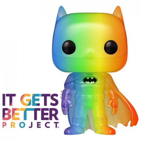 Funko Pop Batman Pride 2020 Rainbow-DC-100