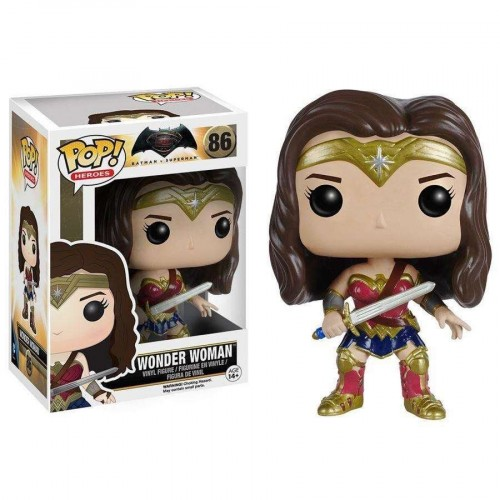 Funko Pop Filme - Batman Vs Superman- Wonder Woman 86 - Batman Vs Superman - #86