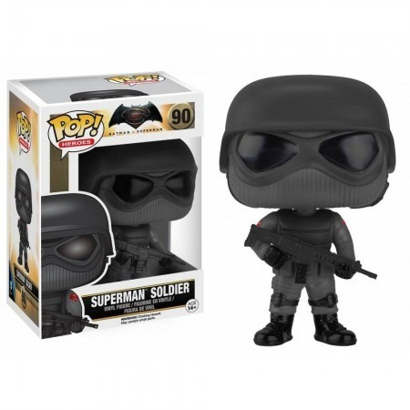 Funko Pop Batman Vs Superman - Superman Soldier-Batman vs Superman-90