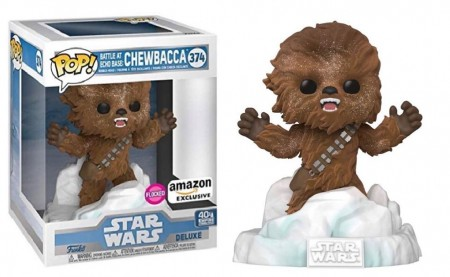 Funko Pop Battle For Echo Base Chewbacca Exclusivo Amazon-Stars Wars-374