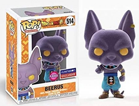 Funko Pop Beerus Flocked (funimation Exclusive)-Dragon Ball Z-514
