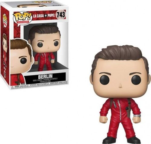 Funko Pop Berlin-La Casa De Papel-743