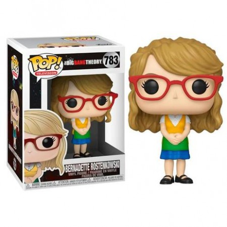 Funko Pop Bernadette Rostenkowski-The Big Bang Theory-783