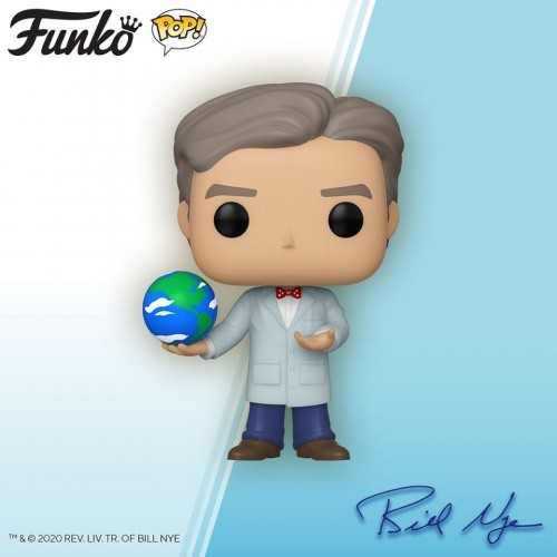 Funko Pop Bill Nye-Funko-1