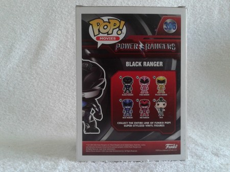 Funko Pop Black Ranger - Power Rangers - #396