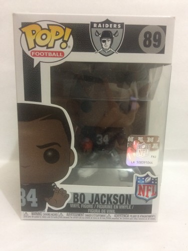 Funko Pop Bo Jackson - Raiders-NFL-89