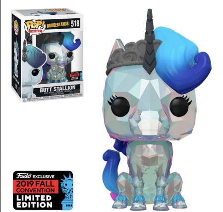 Funko Pop Borderlands Exclusive Nycc 2019 Butt Stallion-Borderlands-518
