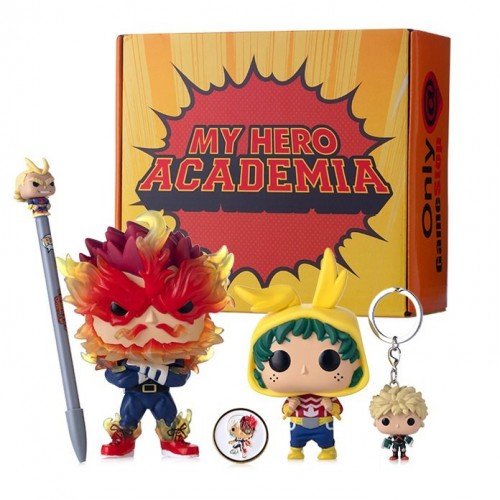 Funko Pop Box My Hero Academia Exclusivo Gamestop-My Hero Academia-494