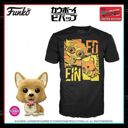 Funko Pop Box Pop And Tee Cowboy Bebop-NYCC 2020-1