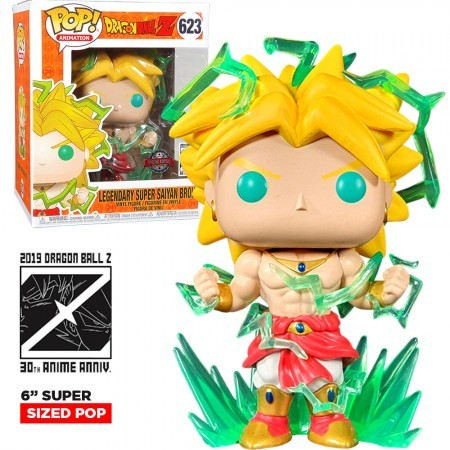 Funko Pop Broly 6''-Dragon Ball-623