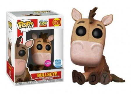 Funko Pop Bullseye (flocked)-Toy Story-520