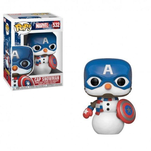 Funko Pop Cap Snowman-Marvel .-532