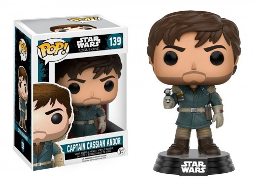 Funko Pop Captain Cassian Andor-STAR WARS ROGUE ONE-139