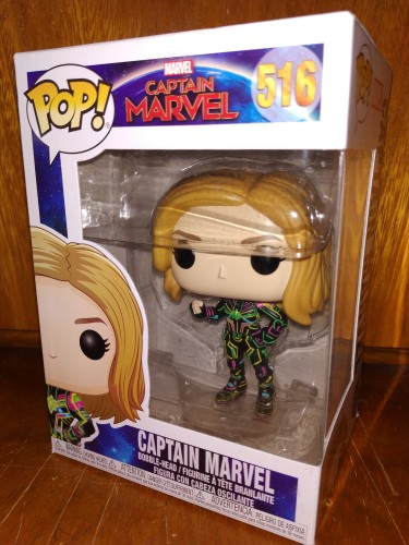 Funko Pop Captain Marvel- Captain Marvel- 516 - Captain Marvel . - #516