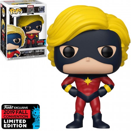 Funko Pop Captain Marvel (mar-vell) Exclusive Nycc 2019-Marvel 80 Years-526