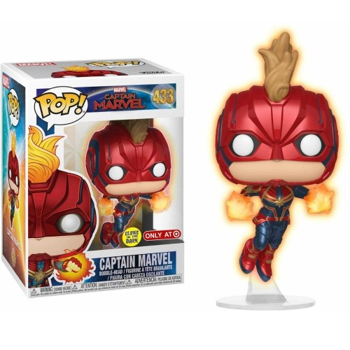 Funko Pop Captain Marvel-captain marvel-433