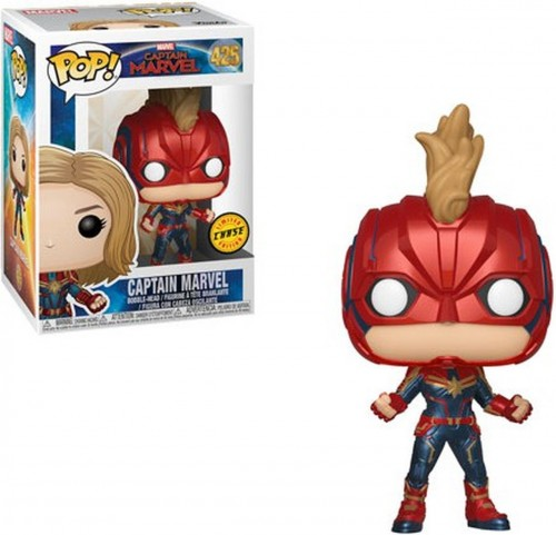 Funko Pop Captain Marvel Chase-Captain Marvel .-425