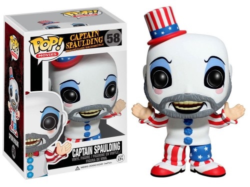 Funko Pop Captain Spaulding-captain spaulding-1