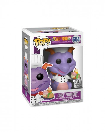 Funko Pop Chef Figment Exclusive Disney Park-Disney-604
