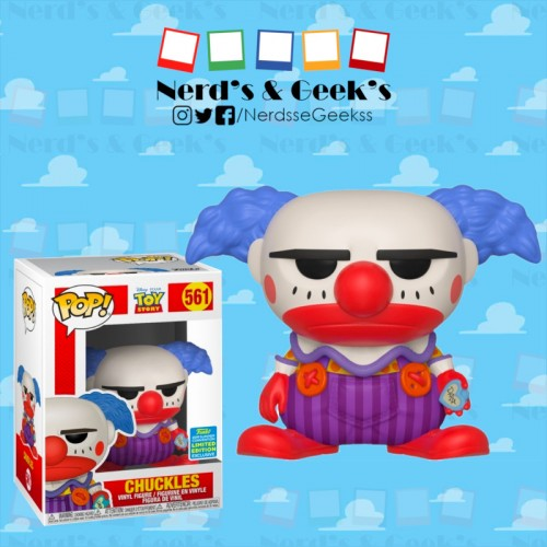 Funko Pop Chuckles Exclusivo Sdcc2019-Toy Story-561