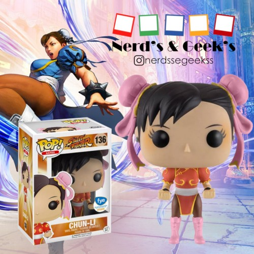 Funko Pop Chun-li Exclusivo Fye-Street Fighter-136