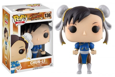 Funko Pop Chun-li Street Fighter-Street Fighter-136