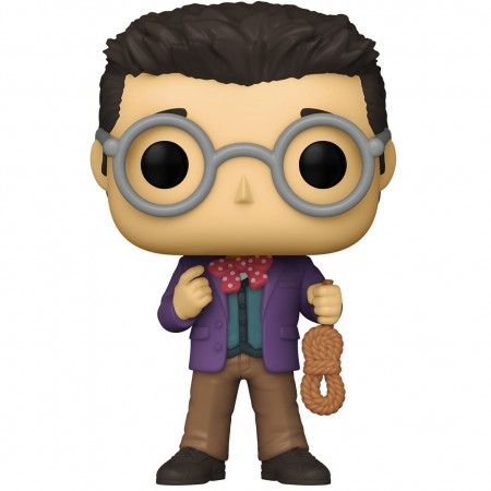 Funko Pop Clue - Professor Plum With Rope-Retro Toys-48