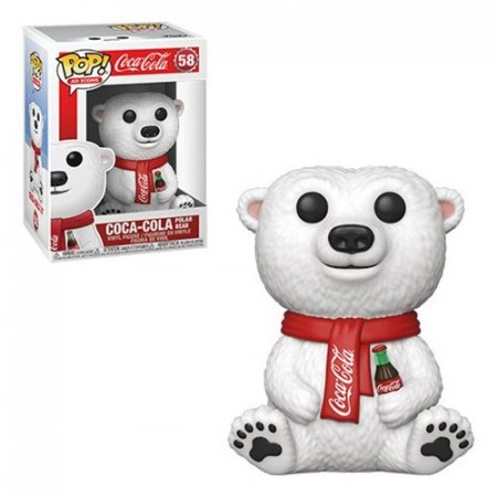 Funko Pop Coca Cola Polar Bear-Coca-Cola-58