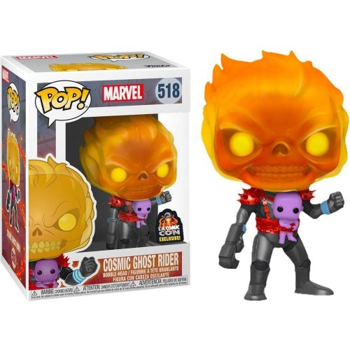 Funko Pop Cosmic Ghost Rider Exclusive L.a. Comic Con-Marvel-518